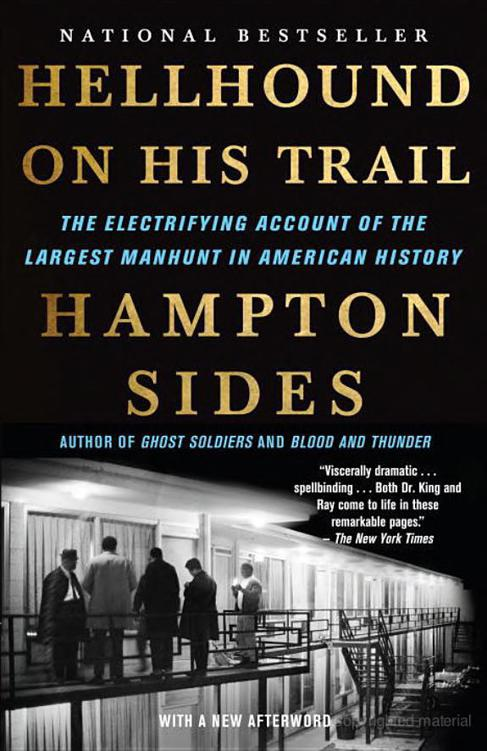Hot Hampton Sides. Hellhound on His Trail: The Stalking of Martin Luther  free shipping