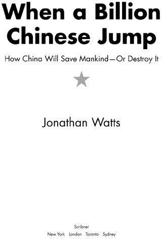 2f7f9b29f932 Jonathan Watts. When a Billion Chinese Jump