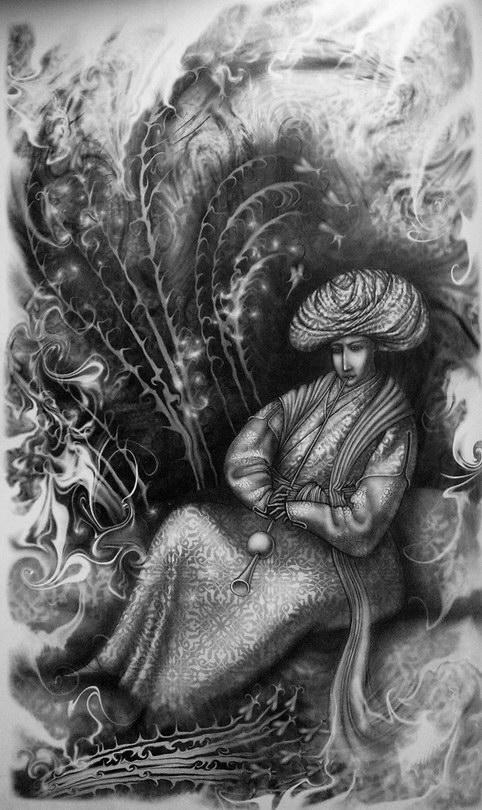 одинокий демон феникс лгкими крылами