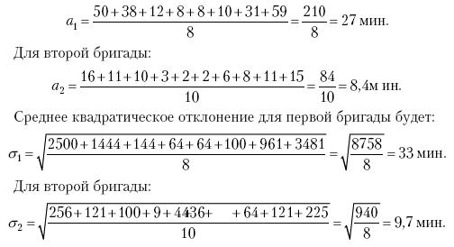 Среднее линейное отклонение решение задач решение практических задач методом математического моделирования
