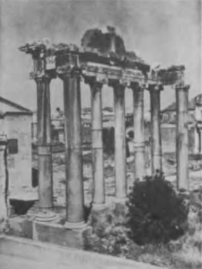 Всегда рада помочь сохранившая руины древнегреческого храма остатки римских укреплений